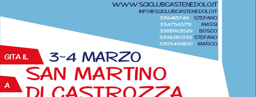 weekend SMARTINO 3-4 MARZO 2018